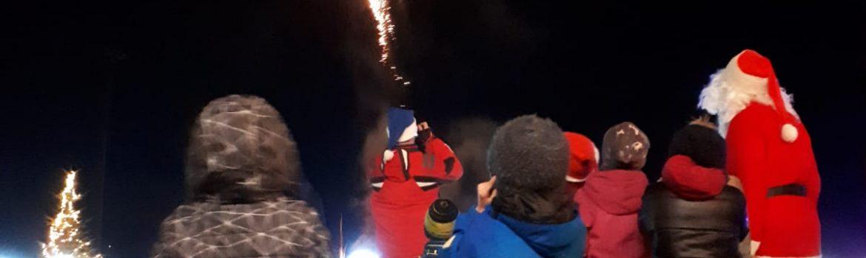 Feuerwerk als Höhepunkt